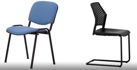 fém vázas rakásolható irodai szék tárgyalószék