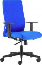 Irodai szék, ergonómikus, forgó, görgős Boston Basic